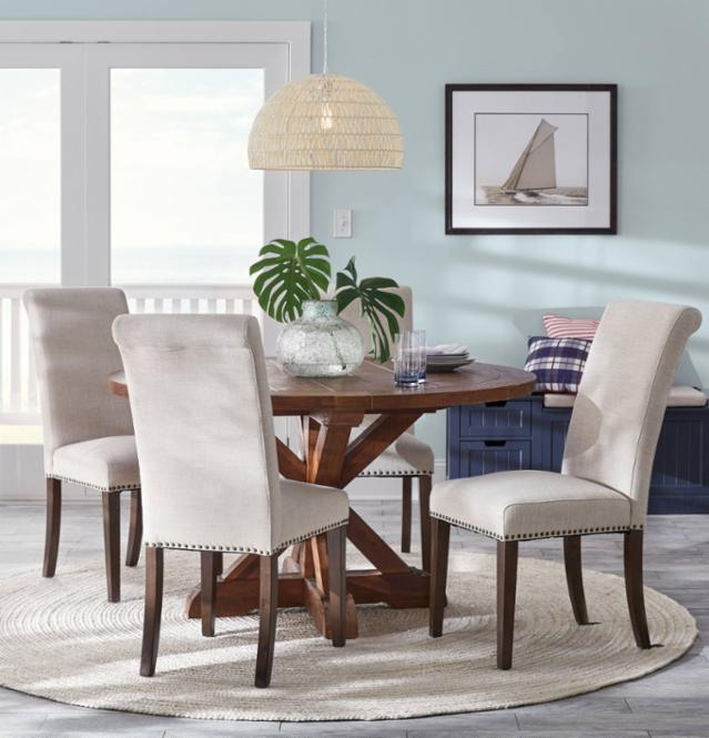 Classically Coastal Dining Room