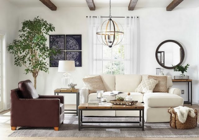 Farmhouse Retreat Living Room