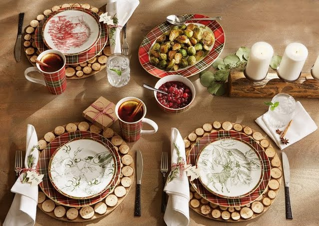 Holiday Farmhouse Dinnerware