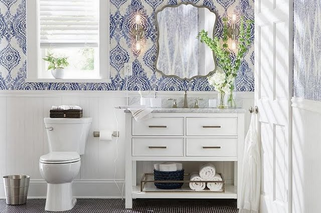 Patterns Bathroom