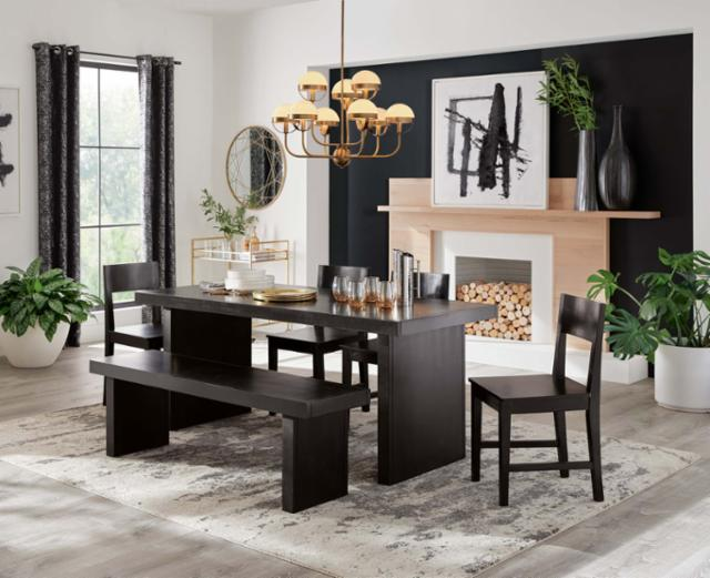 Bold Bungalow Dining Room