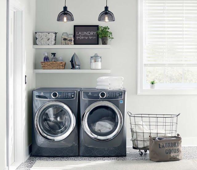 Farmhouse Retreat Laundry Room