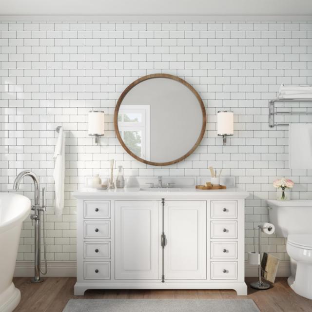 Classic Cottage Bathroom