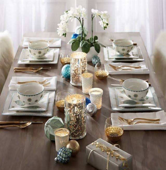 Holiday Glam Dinnerware