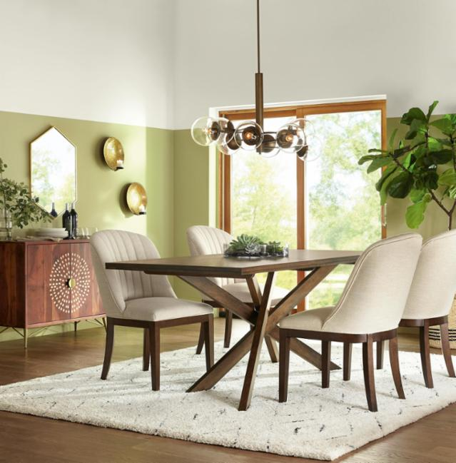 Organic Elegance Dining Room