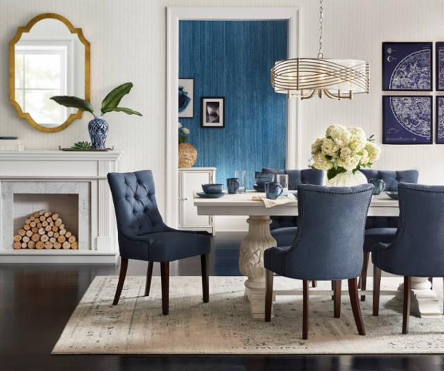 Cool Classics Dining Room