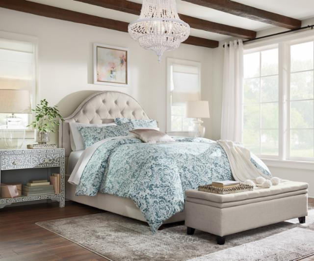 Classic Glamour Master Bedroom