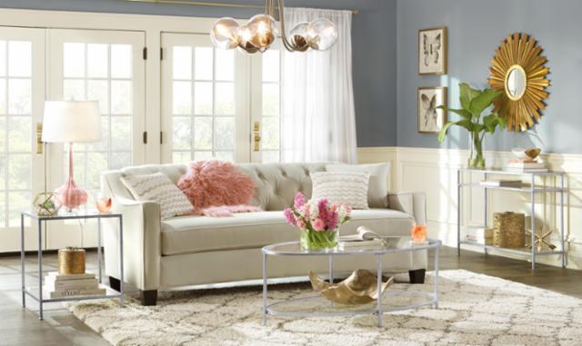 Spring Glam Living Room