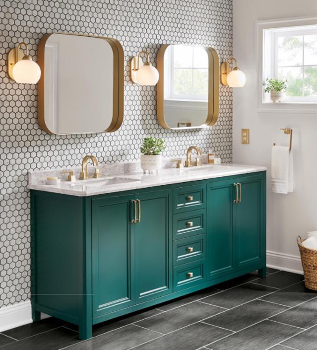 Bold Bungalow Bathroom