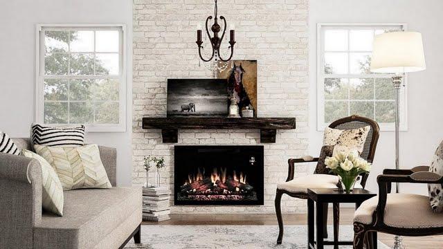 Classic Beige Living Room Den