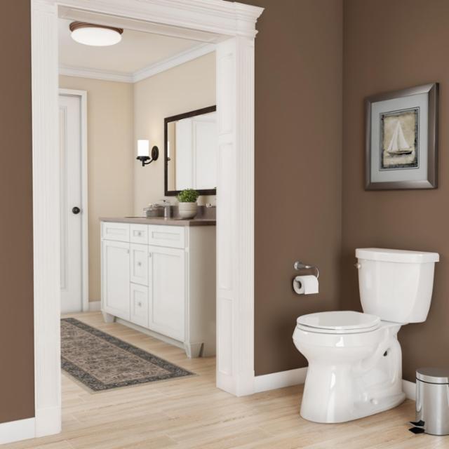 Earth Tone Bathroom