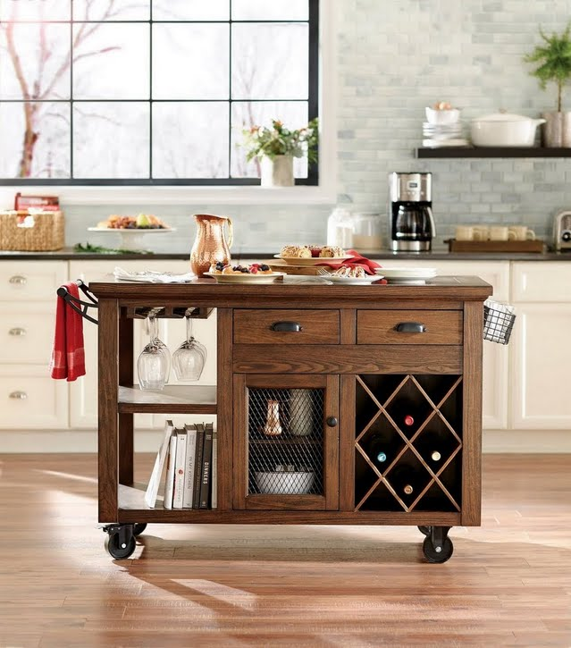 Holiday Essentials Kitchen Carts