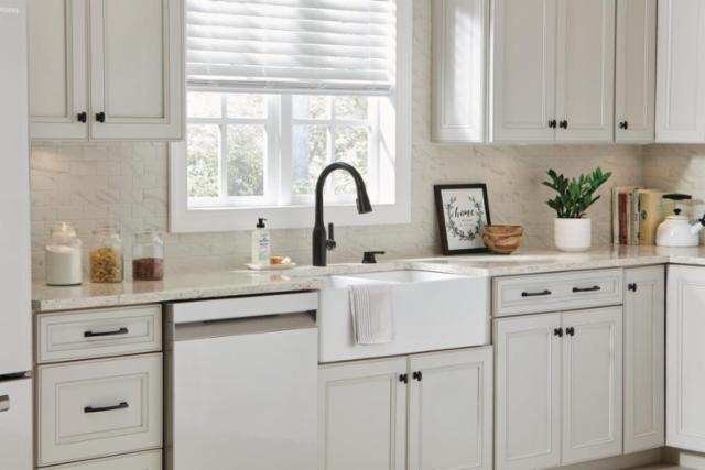 Quick Weekend Kitchen Updates with Delta® and Liberty Hardware® - Matte Black Finish