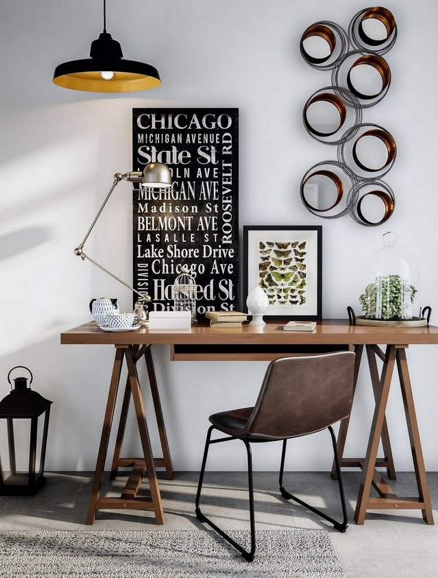 Mod Contemporary Home Office