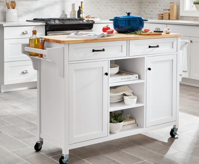 Holiday Wish List: Kitchen Carts