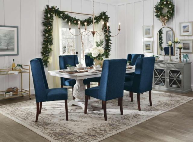 Festive Flair Dining Room