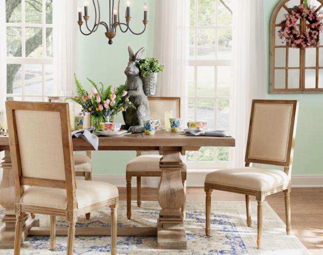 Spring Entertaining Dining Room