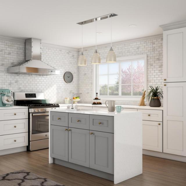 Gleaming Modern Kitchen