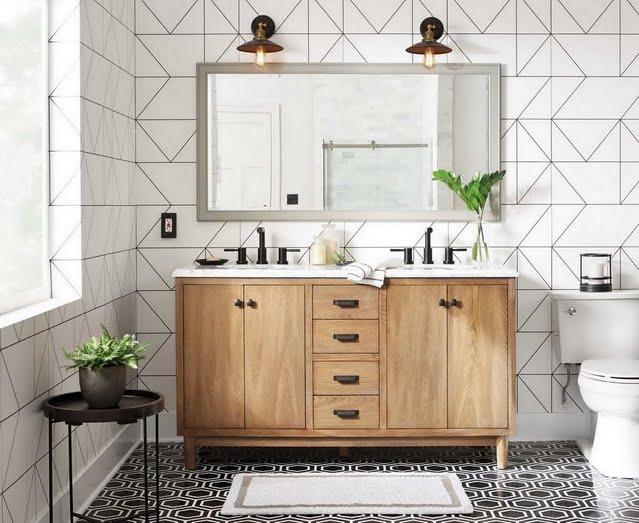 Modern Moment Bathroom