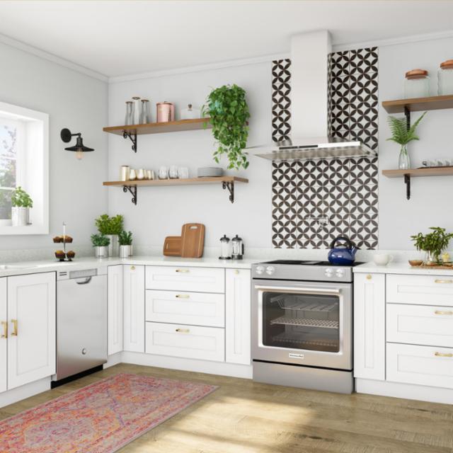 Bold Boho Kitchen