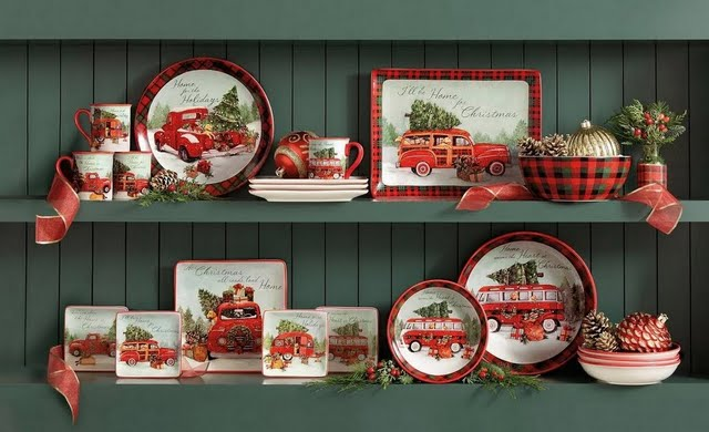 Holiday Cottage Dinnerware