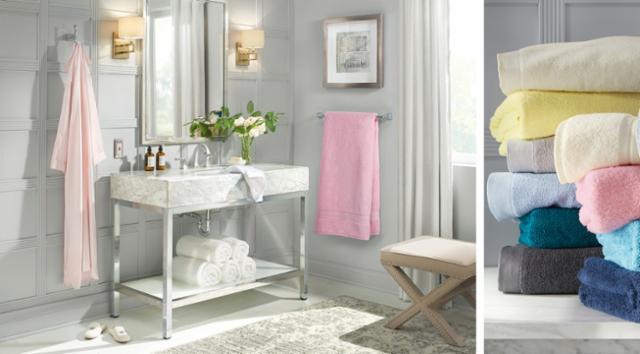 Spring Glam Bathroom