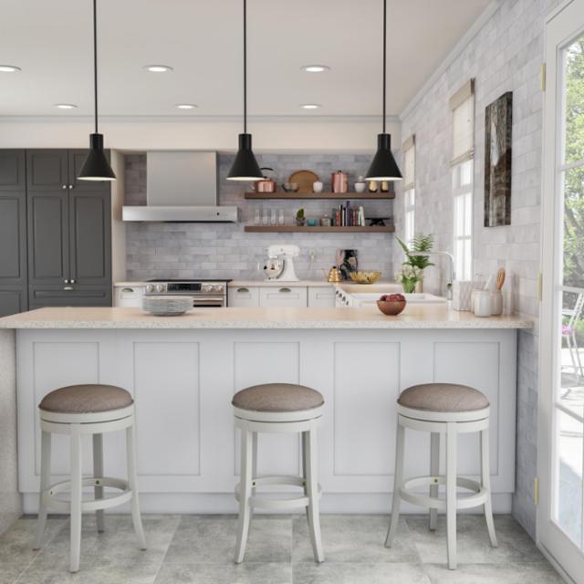 Upscale Bohemian Kitchen
