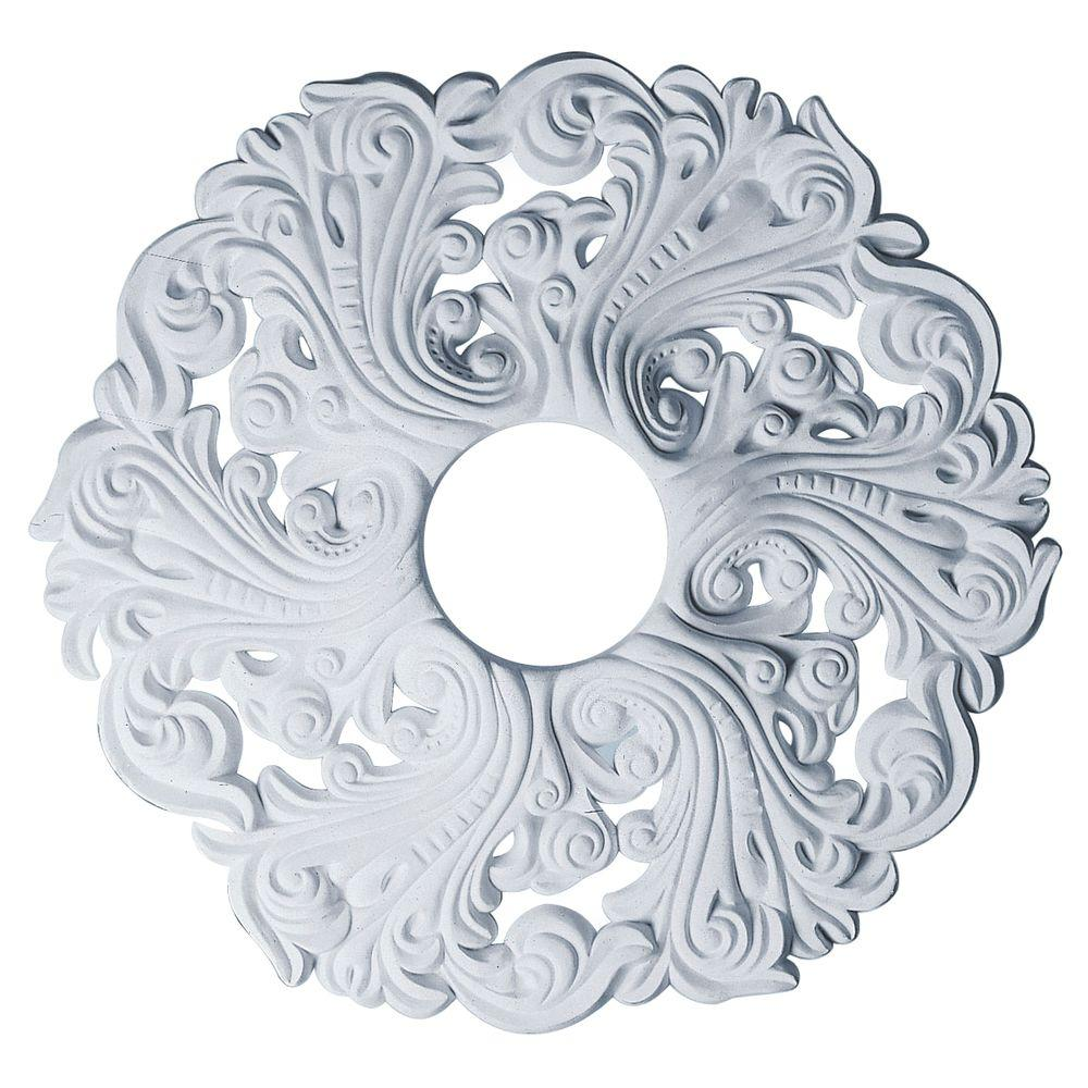 in millwork home p medallion the ceiling tirana ekena medallions