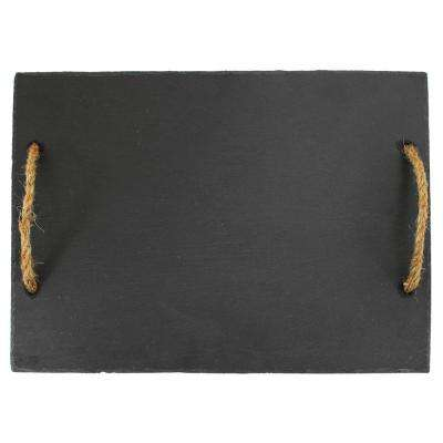 Rustic Elegance 1-Piece Hardwood Slate Cutting Board