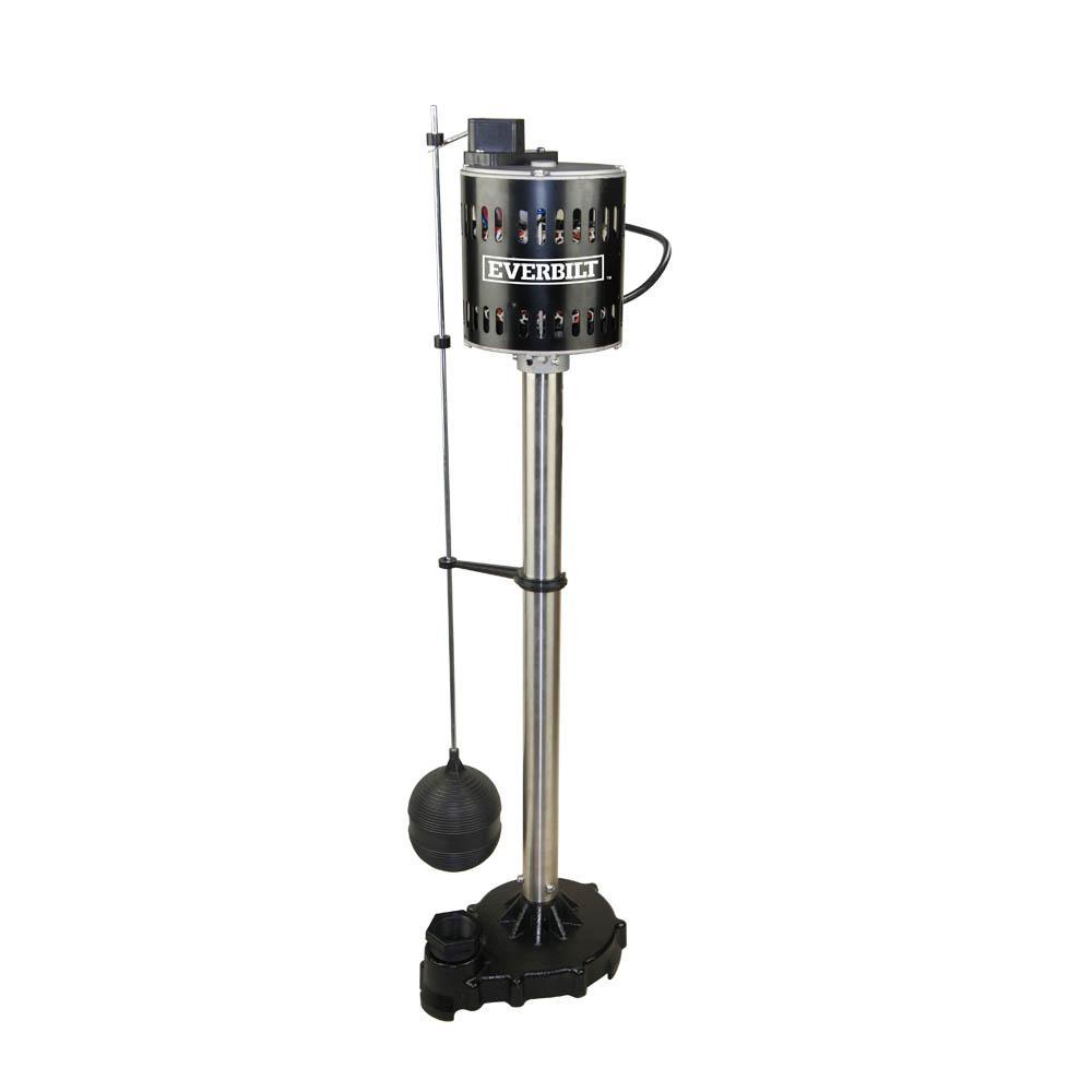 1/2 HP Pedestal Sump Pump