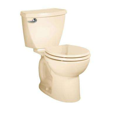 Cadet 3 Powerwash 10 in. Rough-In 2-piece 1.6 GPF Single Flush Round Toilet in Bone