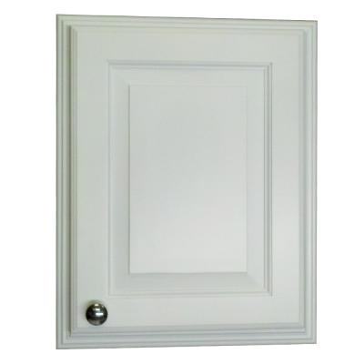 Napa Valley 25.5 in. H x 15.5 in. W x 3.5 in. D Recessed Medicine Cabinet in White