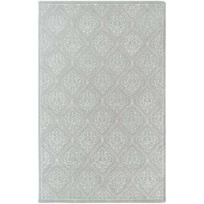 Candice Olson Pale Blue 9 ft. x 13 ft. Area Rug