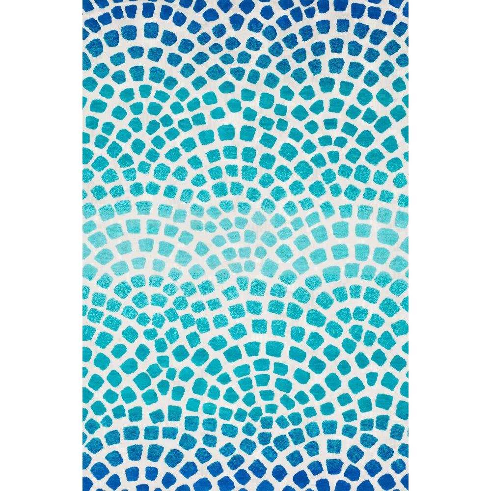 Loloi Rugs Cassidy Lifestyle Collection Aqua/Blue 9 ft. 3 in. x 13 ft. Area Rug