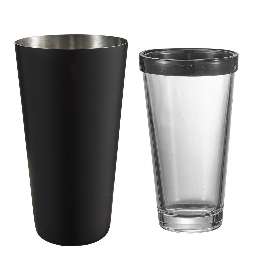 Black Matte Cocktail Shaker