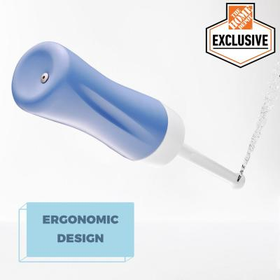 Portable Handheld Travel Bidet Set in Red and Blue