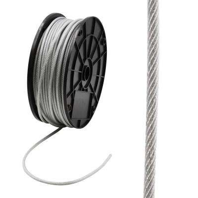 3/32 in. x 250 ft. Galvanized Vinyl Coated Steel Wire Rope