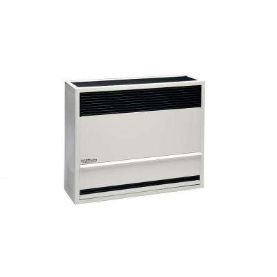 30,000 BTU Direct-Vent Natural Gas Furnace Heater with Wall or Cabinet-Mounted Thermostat