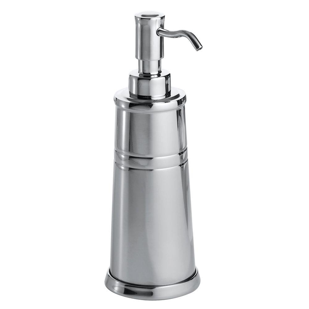 Astor Soap Pump in Polished Stainless Steel