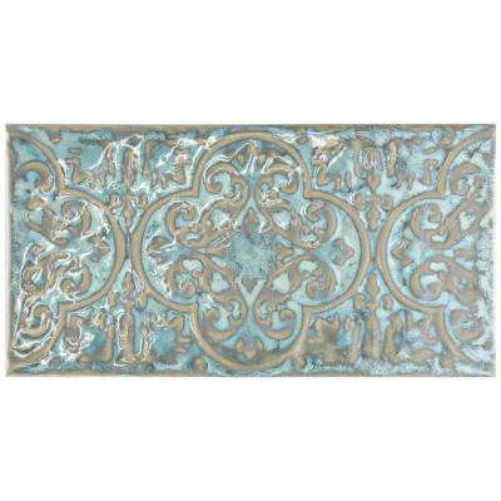 Zurbaran Esmeralda 4-3/8 in. x 8-3/4 in. Ceramic Wall Tile (7.52 sq. ft. / case)