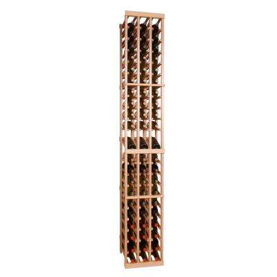 63-Bottle Pine Floor Wine Rack