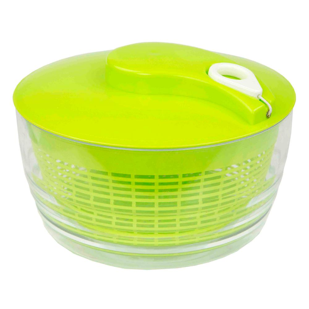 HOME basics Salad Spinner with Retractable Cord KT47265 The Home Depot