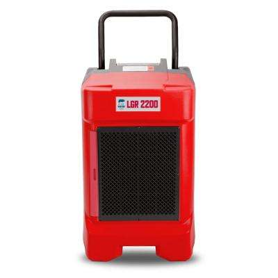 225-Pint Commercial Dehumidifier for Water Damage Restoration Mold Remediation in Red (8-Pack)