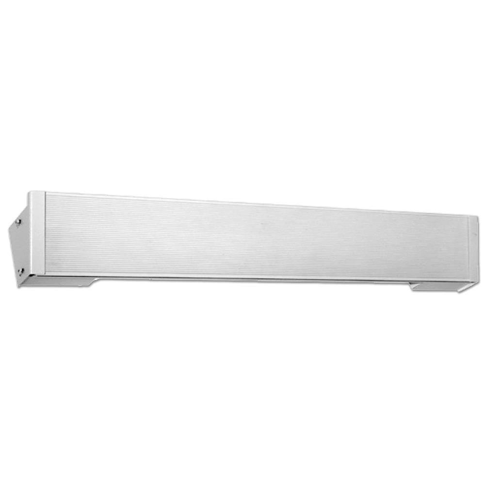 King 34 in. 420-Watt 240-Volt Cove Heater in White
