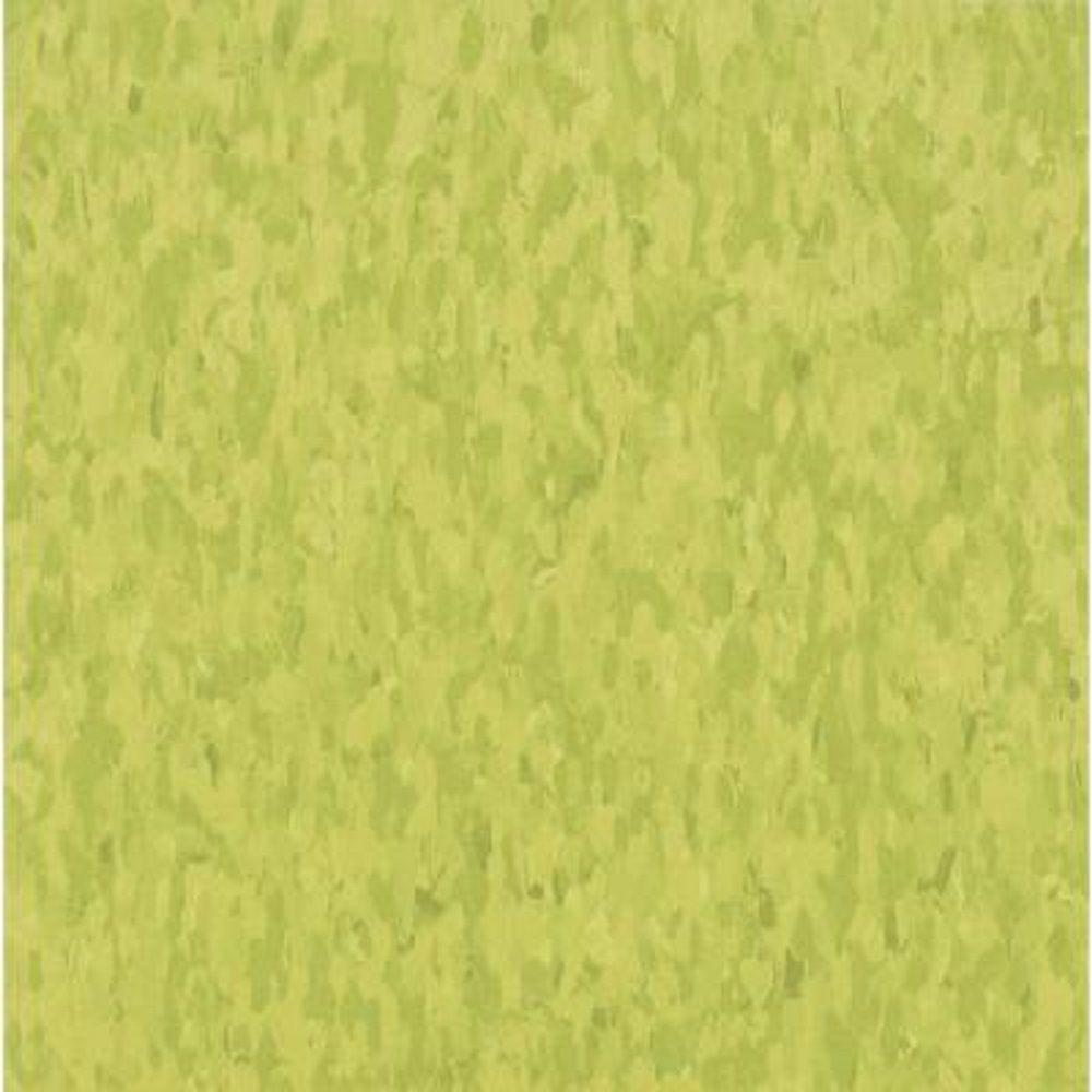 Armstrong Take Home Sample - Imperial Texture VCT Kickin Kiwi Commercial Vinyl Tile - 6 in. x 6 in.