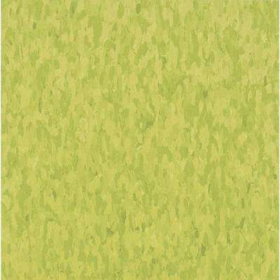 Take Home Sample - Imperial Texture VCT Kickin Kiwi Commercial Vinyl Tile - 6 in. x 6 in.