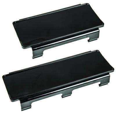 Black 6 in. and 8 in. Light Bar Covers (2-Pack)