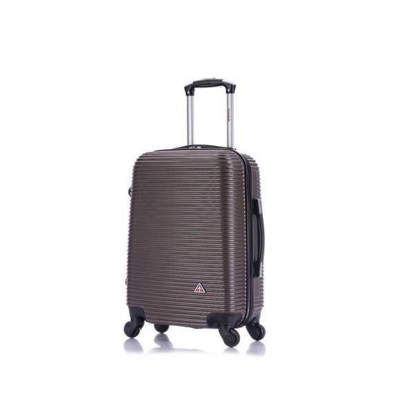 InUSA Royal lightweight hardside spinner 20 in. carry-on Brown IUROY00S-BRO