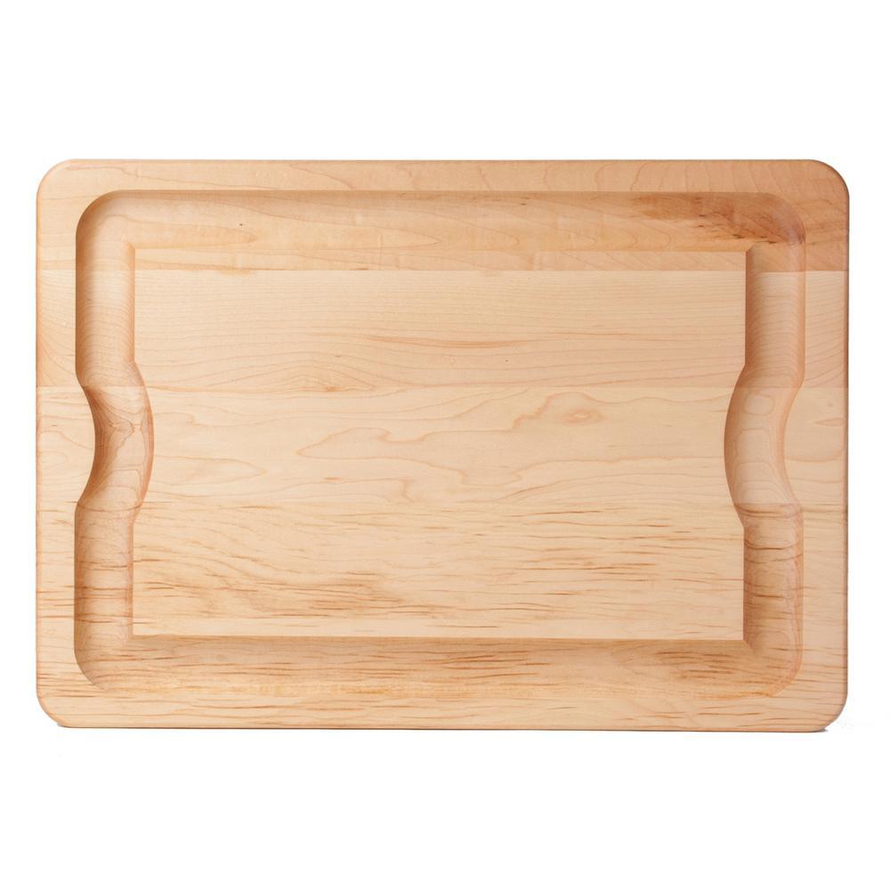 j k adams bbq 24 in x 16 in x 1 in maple carving board bbq 2416
