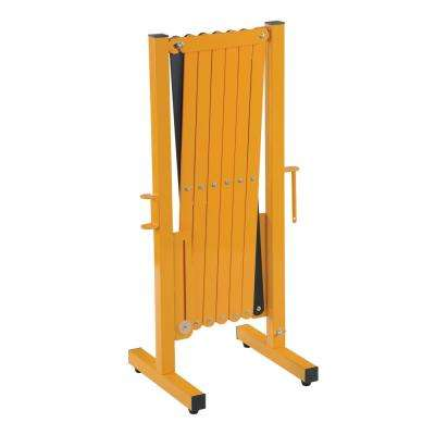 139 in. x 38 in. Yellow Steel Expand-A-Gate